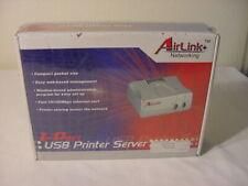 New - Airlink 1 Port Usb Print Server