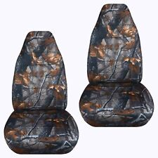 Front set car seat covers fits Ford Explorer 1991-2002  camo dark tree