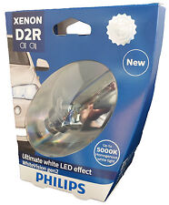 D2R PHILIPS WhiteVision 5000K Xenon White Power +120% 1 Stück 85126WHV2S1