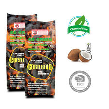 Cocobriq Coconut BBQ Briquets 100% Natural Chemical Free Eco-Friendly 16lbs