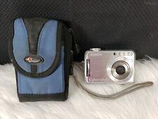 Sony Cyber-shot DSC-S700 7.2MP Digital Camera - Silver, Bundle