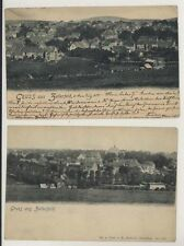 2 Early Gruss Aus Zellerfeld Germany postcards