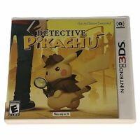 Detective Pikachu (Nintendo 3DS, 2018) Complete CIB Tested Works