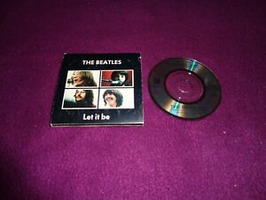 MINI CD SINGLE THE BEATLES / LET IT BE / ODEON XP10-2072 JAPAN PRESS
