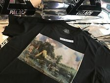PALACE SKATEBOARDS FW16 LARGE BLACK STUBBLE PICTURE TRI FERG TEE T-SHIRT L LAKE