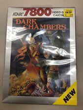 Atari 7800 Dark Chambers NIB 1988 Sealed