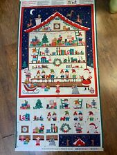 Advent Calendar panel 22.5 wide x 29in length approx (when finished )