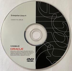 Oracle - Enterprise Linux 4 - Update 5 - DVDs - V10380-01, V10381-01