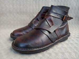 TRIPPEN Brown Calfskin Leather Women's Short Boot size 39