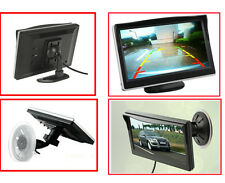 "5"" HD 800*480 TFT LCD Double Brackets 2 Video Car Rear View DVD GPS Monitor - US"