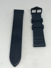 Fossil Blue Rubber Men's Watch Strap 20mm - Metallic Blue Clasp - C68