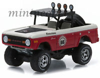 GREENLIGHT 35020 A ALL TERRAIN SERIES 2 1966 66 FORD BRONCO 1/64 BLACK RED WHITE