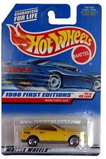 1998 Hot Wheels #646 First Edition #11 Mercedes SLK mf yellow