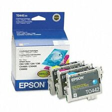 New OEM Epson 44 T0044520 Color Ink Cartridge. C/M/Y 3-Pack. Exp Date: 11 /2016
