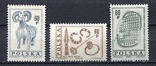 35737) POLAND 1966 MNH** Archeology 3v Scott# 1461/63