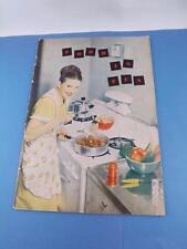 FOOD IS FUN RECIPE BOOK AMERICAN GAS ASSOCIATION MEAL GUIDE HOME SERVICE SHOP