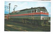 Vintage Railroad Train Post Card AMTRAK 950