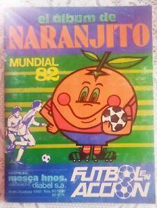 album Naranjito 1982 World Cup Spain 1982 full