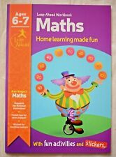 Maths Educational Activity Book Year 2 Home Learning Children Age 6 7 KS1
