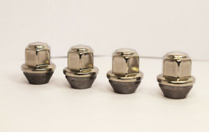 Set of 4 x Ford M12 x 1.5, OE Style, 19mm Hex Alloy Wheel Nuts