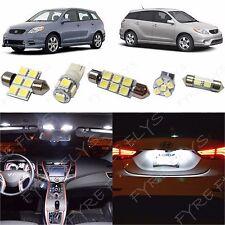 7x White LED lights interior package kit for 2003-2008 Toyota Matrix TM2W