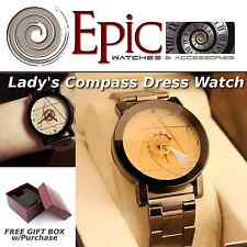 EPIC TIME- Lady Compass Dress Watch- New