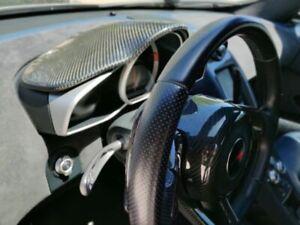 McLaren MP4-12C & 650S, 675LT Carbon Fiber Dash Panel Cover Odometer Panel Cover