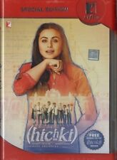 HICHKI - YRF 2 DISC SET (DVD & AUDIO CD) BOLLYWOOD DVD - Rani Mukerji.