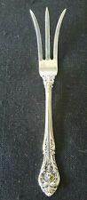 """VINTAGE Sterling Silver Gorham """"King Edward"""" PICKLE / OLIVE FORK 4.5"""" 13.3 grams"""