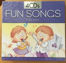 Fun Songs For Kids (CD, 2009, Purple cover) New 4 CD Set