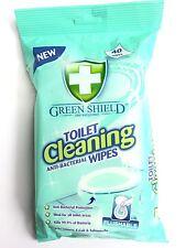 PULIZIA WC antibatterico salviette (40) Gentle pulito tessuto uccide germi rapidamente