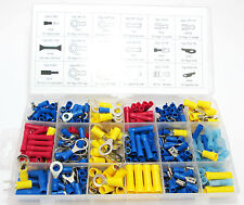 360pc Wire Terminals / Spade Ends  Assortment Kit / set Electrical  New PL312