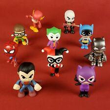 Funko Mystery Minis Lot Marvel DC Spiderman Batman Superman Harley Joker Flash