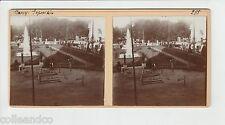 █ Vue Stéréoscopique / Stéréo : 54 NANCY EXPOSITION 1909 +  CANAL Marne Meurthe