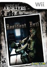 Resident Evil Archives: Resident Evil WII New Nintendo Wii