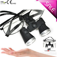 3.5X 420mm Metal Dental Surgical Medical Binocular Loupes optical glasses AA IT