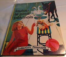 Children Book in French LOULOU LE PETIT PEKINOIS Livre pour Enfants en Francais