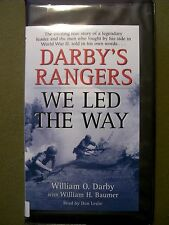 Darby's Rangers by William O. Darby (2005, Cassette, Abridged)