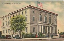 U. S. Post Office Gadsden Al Postcard