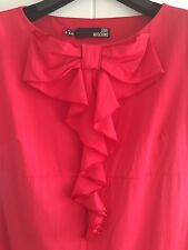 Moschino Red Dress, Size It 44, S-M