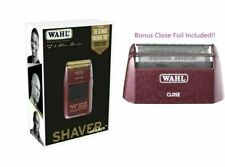 Wahl 5-Star Professional Bump Free Shaver #8061-100 - BONUS Close Foil Included!