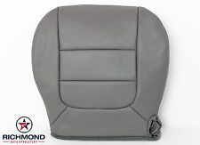 2003 Ford F150 Lariat Crew Step Side-Driver Side Bottom Leather Seat Cover GRAY