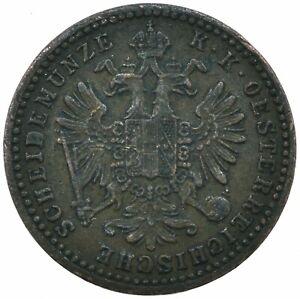 1860 / 1 KREUZER / AUSTRIA / OSTERREICH     #WT19511