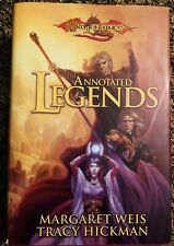 Hardcover DragonLance The Annotated Legends by Tracy Hickman and Margaret Weis