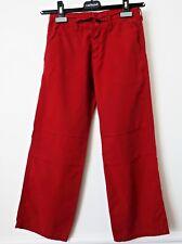 PANTALON en coton ROUGE REPLAY & SONS Taille 8-10 ans (It 30) porté 2 fois