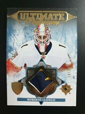2016-17 Ultimate CollectionPerformers Materials Gold #UPRL Roberto Luongo #14/15