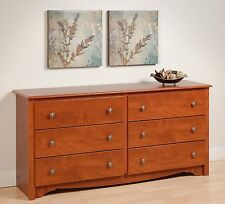 Sonoma Furniture 6 Drawer Bedroom Dresser - Cherry NEW