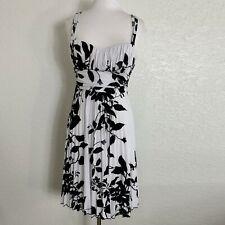 30ed3a1c4e7 Speechless Womens Dress Size Medium Black White Floral Sleeveless