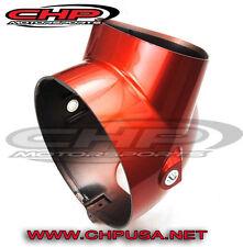 Honda CT70 KO, Headlight  bucket CANDY RUBY RED, Non-OE CHP Motorsports