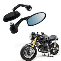 Motorcycle Motorbike Bar End Mirrors Custom For Triumph Speedmaster Cafe Racer